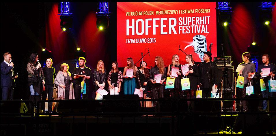 Ogólnopolski Młodzieżowy Festiwal Piosenki HOFFER SUPERHIT FESTIVAL