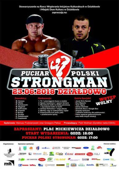Puchar Polski Strongman Działdowo
